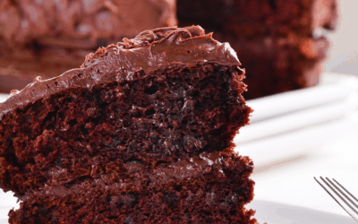 3-Ingredient Vegan Chocolate Cake