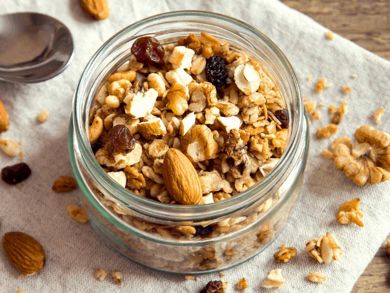 vegane snacks granola