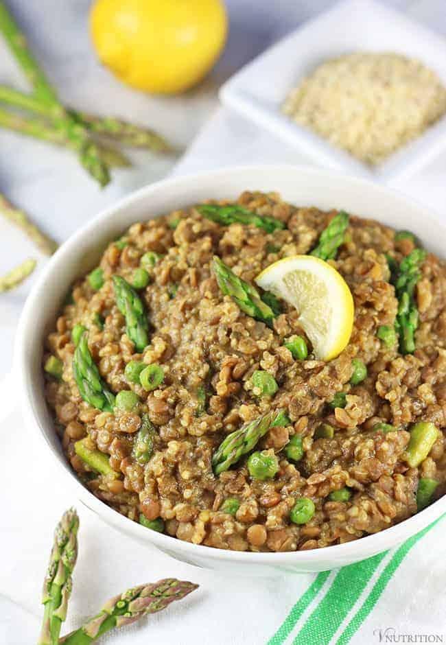 Lentil Quinoa Recipe